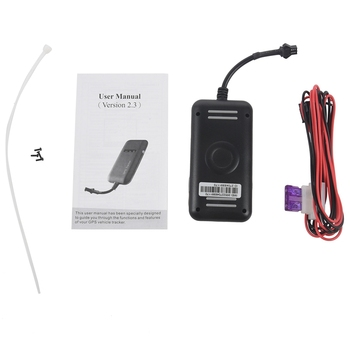 Mini Realtime GPS Car Tracker Locator GT02 GPRS GSM Tracking Device Vehicle/Truck/Van image