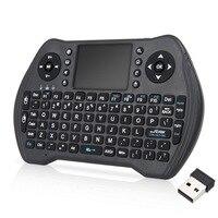 20 adet/grup dhl ücretsiz MT10 kablosuz klavye 3 renk arkadan aydınlatmalı 2.4G kablosuz Touchpad Android tv kutusu için
