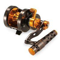 Aluminum CNC Machined 2 Speed Fishing Reel Lever Drag Big Game Trolling Reel Sea Boat Jigging Reel De Pesca