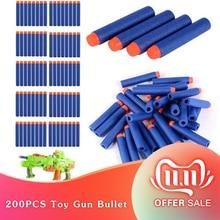 10-50Pcs for Soft Toy Gun Bullets Round Head Air Hole Foam Bullet 7.2cm for Children's toys family entertainment games Offer