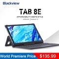Blackview Tab 8E планшетный ПК 10,1 дюймов 3 ГБ + 32 ГБ, Android 10 SC9863A Octa Core 1,6 ГГц Wi-Fi и Bluetooth 4G 6580 мА/ч, Батарея
