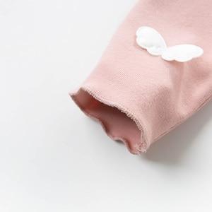 Image 5 - DBJ12806 DAVE Bella ฤดูใบไม้ผลิเด็กทารกแฟชั่น Bow appliques กางเกงเด็กความยาวเต็มกางเกงเด็กทารกเด็กวัยหัดเดินกางเกงขายาว