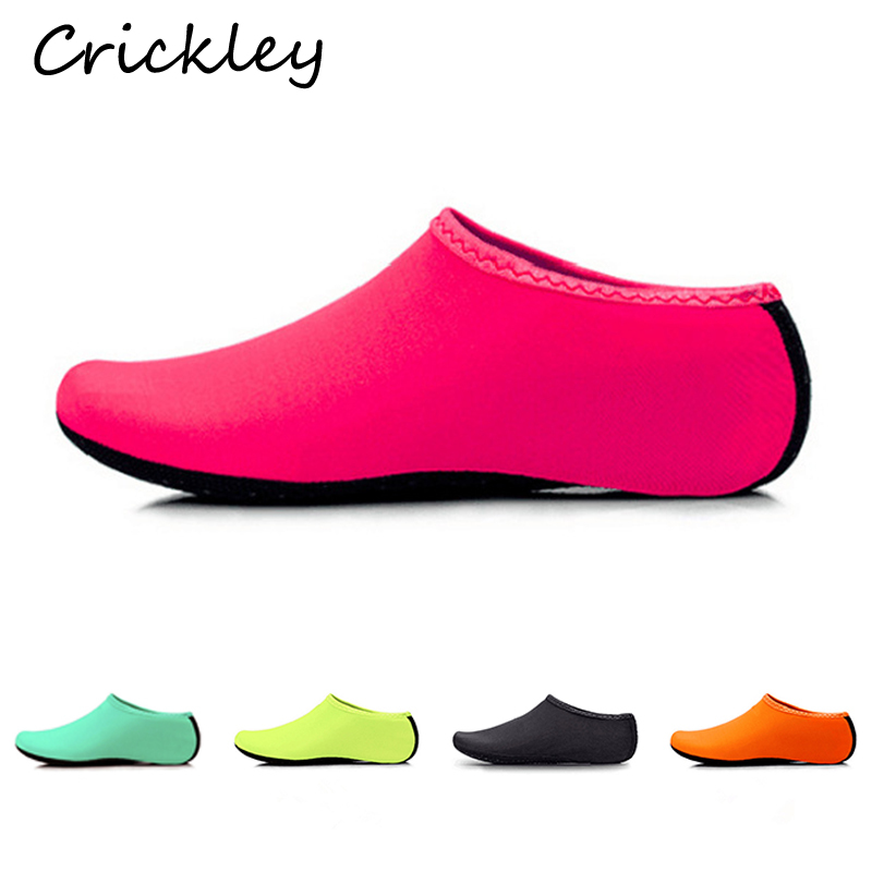 Children Swimming Shoes Solid Boys Girls Beach Shoes Soft Non Slip Floor Indoor Slippers Quick Drying Barefoot Kids Home Shoes