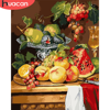 HUACAN Paint By Number Fruit Drawing On Canvas HandPainted Painting Art Gift DIY Pictures By Number Flower Kits Home Decor