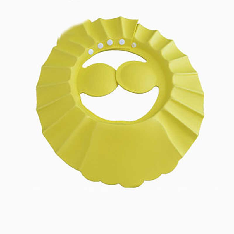 เด็กหมวกอาบน้ำหมวกแชมพูล้างผมหมวกเด็กปรับได้กันน้ำป้องกันหูตาสำหรับอาบน้ำ Baby Care