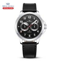 Seagull relógio automático dos homens relógios mecânicos 100m relógio 44mm relógio de negócios homem relógio 2019 masculino luxo 819.27.1012|Relógios mecânicos| |  -