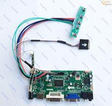 Zestaw płyt kontrolera LCD konwertera LVDS monitor dla LTN121AT04 001 ekran 1280X800 LTN121AT04 001 z wejściem HDMI, + DVI + VGA + Audio