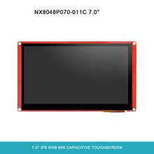 "Nextion Intelligente P Serie: NX8048P070-011C 7 ""Kapazitiven Touchscreen Ohne Gehäuse HMI TFT LCD Modul Display(China)"
