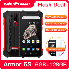 Upgrade Ulefone Armor 6S IP68 NFC Rugged Mobile Phone Helio