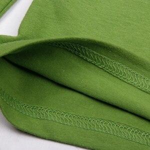 Image 5 - Enfants garçons dinosaures T Shirt printemps et automne enfants à capuche à manches longues pull haut pour enfants vêtements 100% sweat à capuche en coton T Shirt