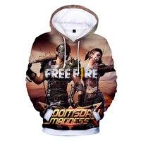 Fire Shooting 3d Print Hoodies Fashion Men Harajuku Funny Sweatshirts Streetwear Hip Hop Quality Plus Size Autumn Winter Clothes