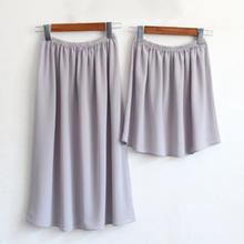 Нижняя юбка; юбка-американка; женское нижнее белье; Прозрачное тонкое шифоновое платье; enagua mujer; пикантная летняя юбка
