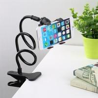 Soporte Universal para teléfono móvil, Flexible, ajustable, Clip para Smartphone, para cama en casa, escritorio