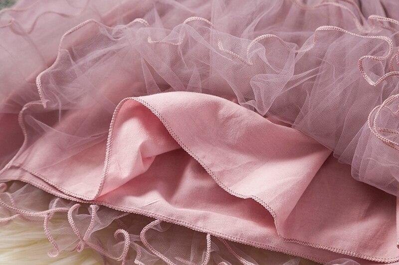 Hbe998c80cb8b4c01a7d093ea912a5e4et Red Kids Dresses For Girls Flower Lace Tulle Dress Wedding Little Girl Ceremony Party Birthday Dress Children Autumn Clothing