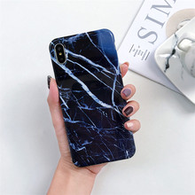 Marble Phone Case sFor iphone 7 XS MAX Soft TPU Back Cover For 6 6S 8 Plus X XR Cases