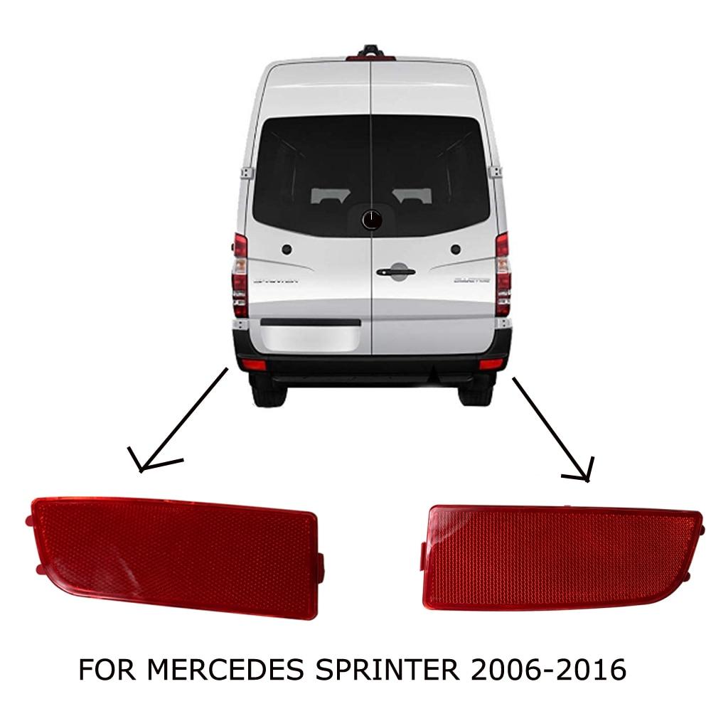 for Mercedes Benz Dodge Sprinter W906 2006-2016 Rear Bumper Reflector Light