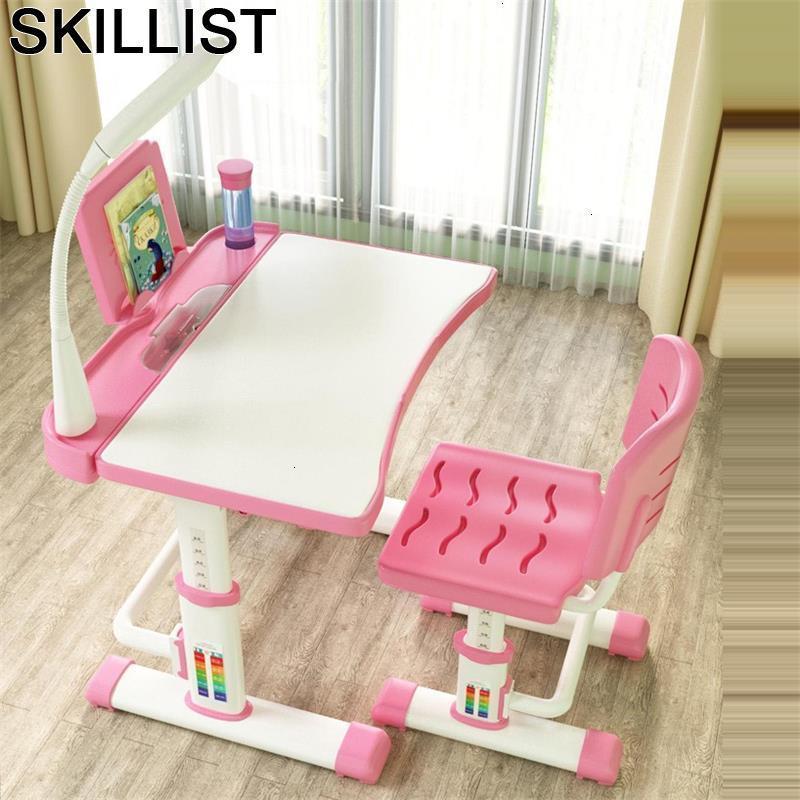 Bambini Kindertisch Mesinha Pour Mesa Y Silla Infantil Chair And Toddler Adjustable Kinder Bureau Enfant For Study Kids Table
