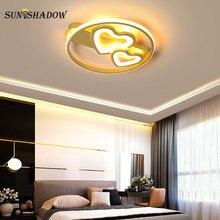 Indoor Lighting Led Ceiling Light 110V 220V Surface Mounted Lamp For Living room Bedroom Kitchen Dining Luminaires