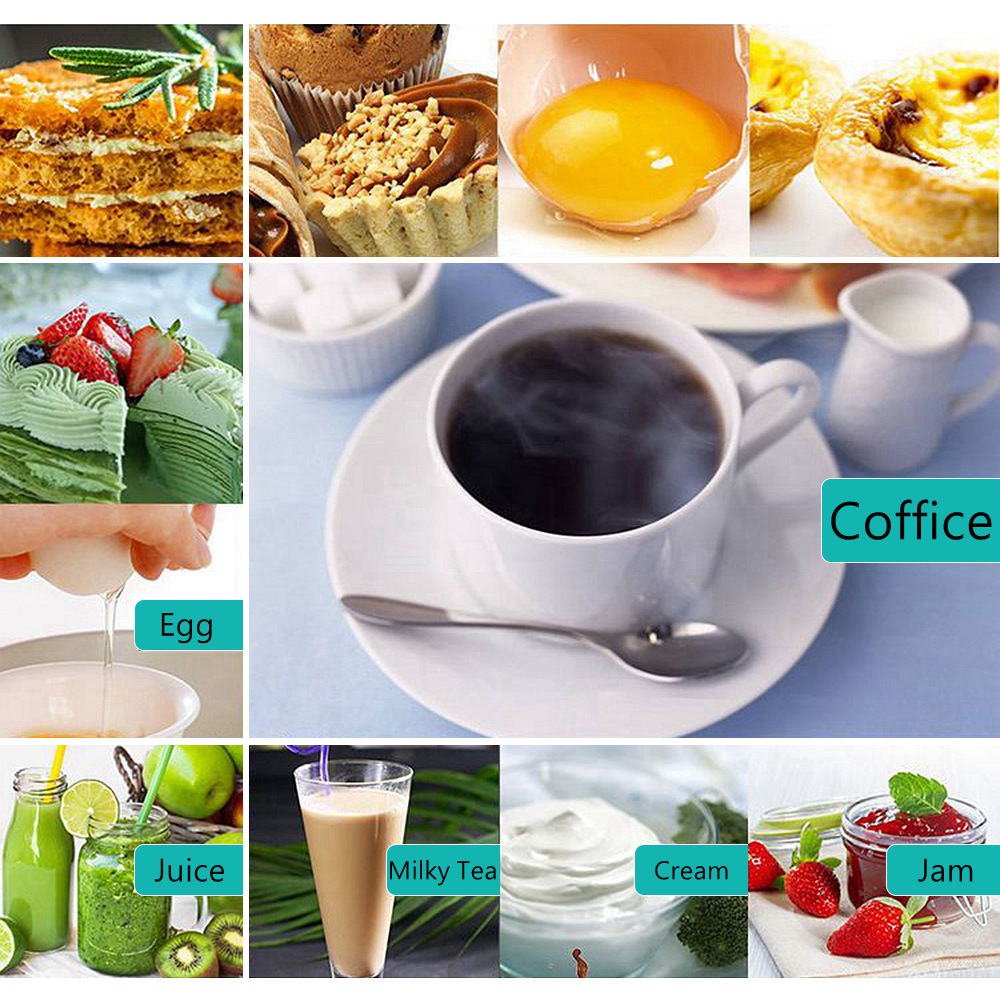 Milk Frother Handheld Foamer Coffee Maker Egg Beater Chocolate/Cappuccino Stirrer Mini Portable Blender Kitchen Whisk Tool 6