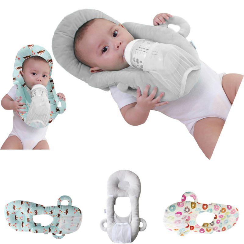 Newborn Baby Nursing Pillows Infant Feeding Pillow Self Feeding Nursing Pillow Portable Detachable Feeding Baby Care