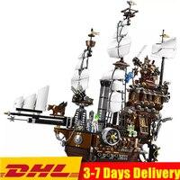 Идеи кино 2 3D город пиратский корабль металлическая борода море корова строительные блоки Наборы комплекты кирпичей дети мальчик подарок и