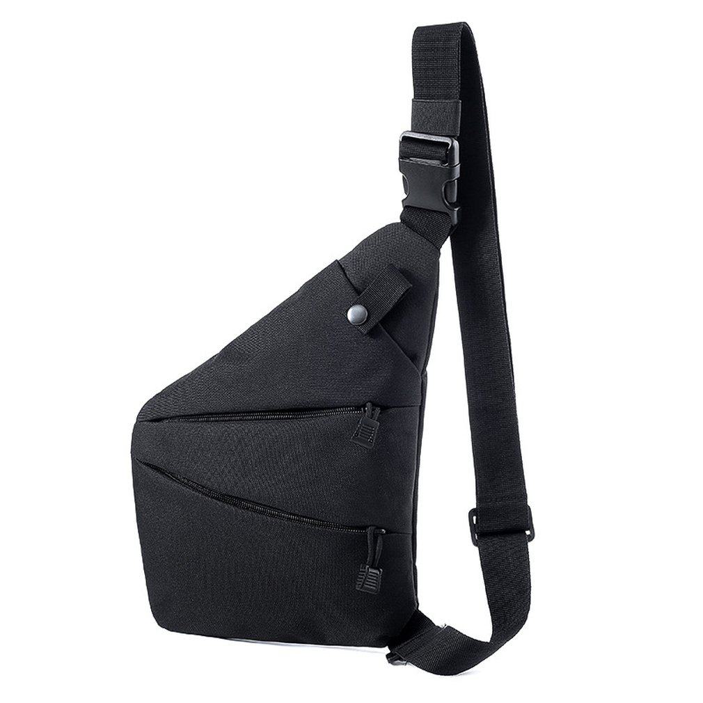 Multifunction Tactic Shoulder Bag Anti-Theft Mobile Phone Storage Pouch Sport Fitness Cycling Bag For Mens