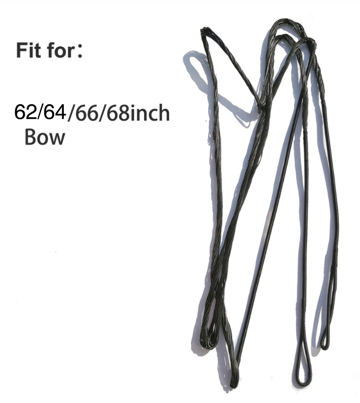 Various Size Arrow Rope Strings Replacement Recurve Bow Adjustable Bowstring