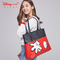 Disney Mickey Mouse Cartoon Bag Large Capacity Backpack Women Shouder Bag Girl Handbag Festival Gifts
