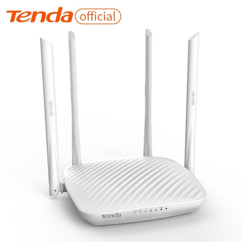 Tenda F9 600 Мбит/с беспроводной Wi Fi маршрутизатор РЕТРАНСЛЯТОР, многоязычная прошивка, маршрутизатор/WISP/ретранслятор/режим AP, 1WAN + порты RJ45 3LAN Беспроводные роутеры      АлиЭкспресс