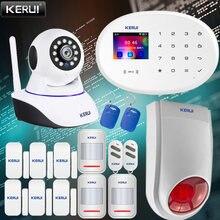 Kerui 433 МГц w20 сенсорный экран Беспроводной домашняя система