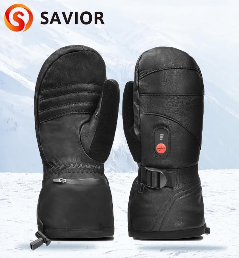 Зимние теплые перчатки с электроподогревом и аккумулятором, перчатки с инфракрасным подогревом для катания на лыжах, мотоциклах, 2020
