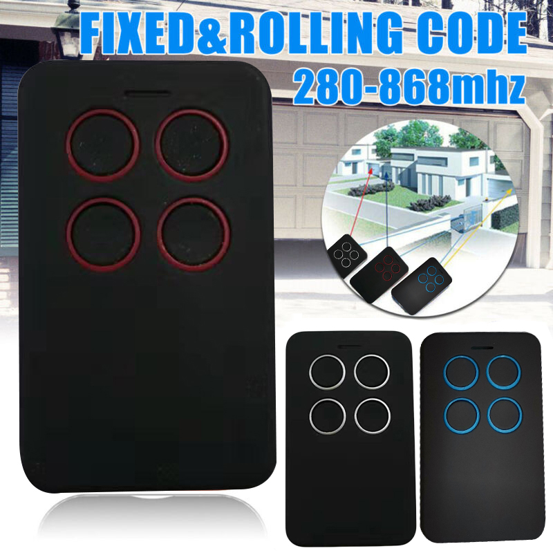 1pc Remote Control 280-868MHZ Universal Fix Rolling Gate Garage Door Remote Control Duplicator Tool