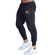 Spring and autumn brand mens trousers new jogging sports pants beam foot casual gym fitness bodybuilding