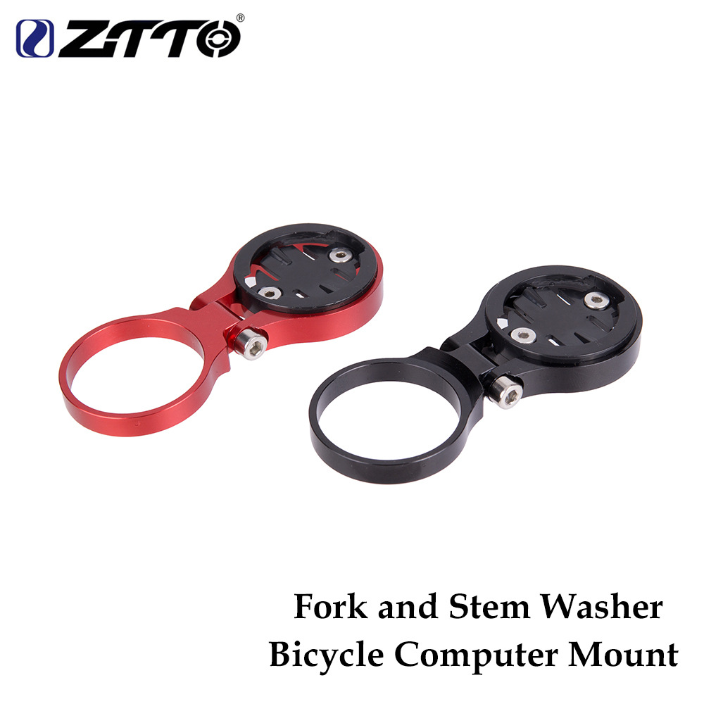 ZTTO MTB road <font><b>bike</b></font> computer installation bracket rod and fork code table seat for Garmin Cateye <font><b>Bryton</b></font> bicycle computer <font><b>GPS</b></font> use image