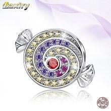 Бусины шармы из серебра 925 пробы для браслетов и ожерелий