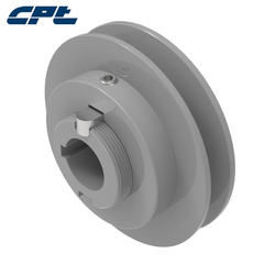 Single Groove VP Adjuster Pulley for Air Condition 1VP50 With External Key OD 4.75inch (120.65mm) for Belts 3L, 4L, 5L, A, B, 5V