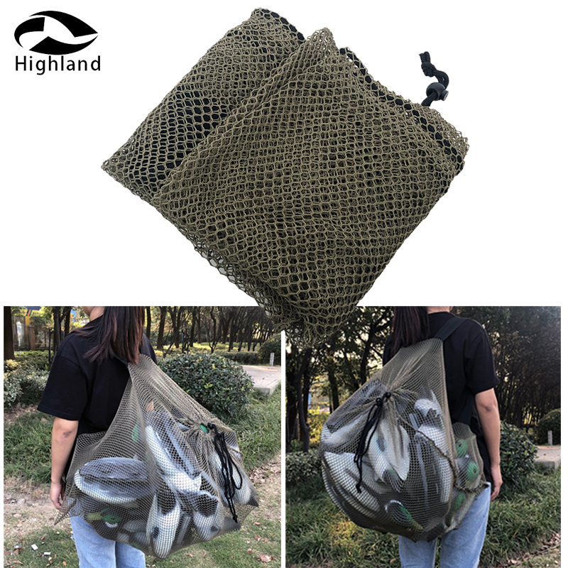 Large Polyester Mesh Decoy Bag for Hunting Shooting Duck Geese Decoy