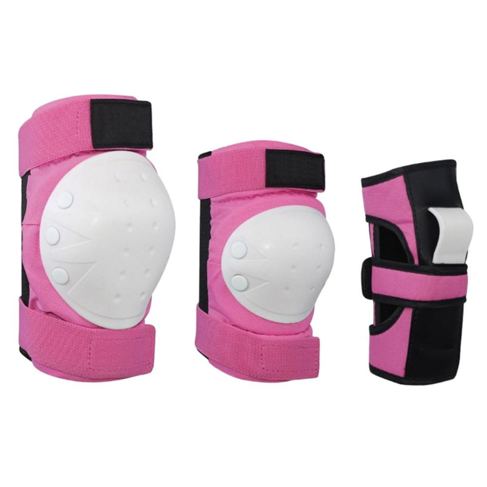 Children's Adult's Sports Protective Gear Scooter Skates Roller Skating Protective Gear Knee Pads Elbow Pads Wrist Guards