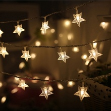 Get more info on the PChristmas Metal Star String Light Warm White LED Fairy Lights for Indoor Outdoor Festival Party Wedding Decor CM