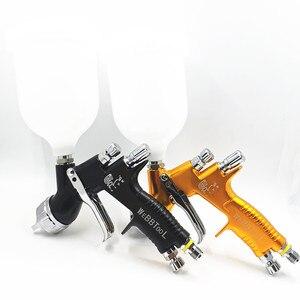 PISTOLA DE PULVERIZACIÓN GTI Pro Lite de alta calidad fina TE20/T110 1,3/1,8mm pistola de pulverización a base de agua pistola de aire para rociador Coche
