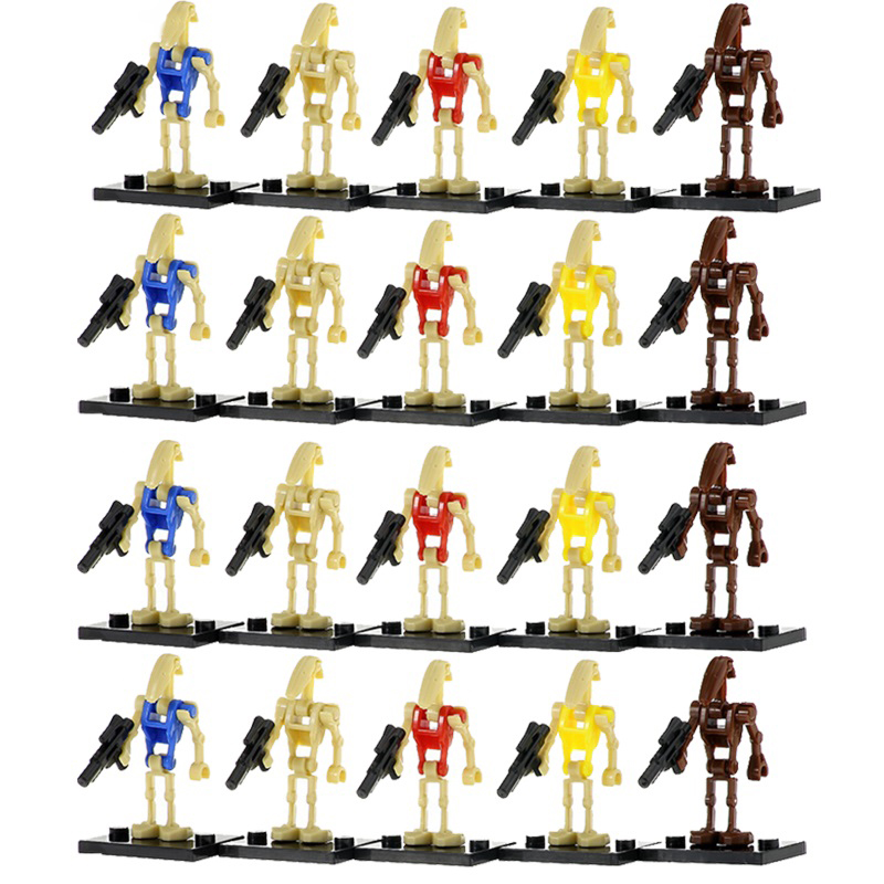 Single Sale 4Pcs/Set Star Wars Rogue One Combat Robot Doath Trooper K-2SO Bricks Model Building Blocks Kids Gifts Toys PG8099 image