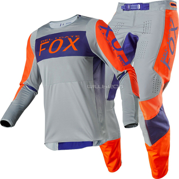 New Arrival! 2020 Racing 360 Linc Jersey & Pant Combo Grey/Orange MX ATV Motocross Gear Set