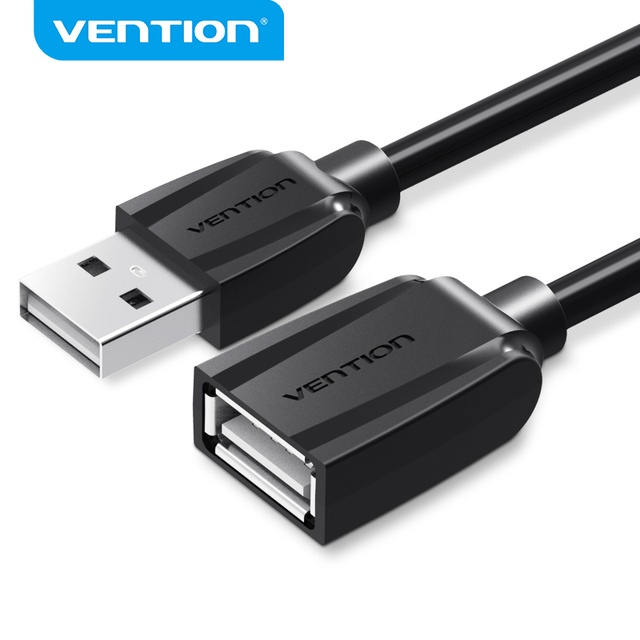 Vention كابل يو اس بي 3.0 USB إلى تمديدات كابلات USB ذكر إلى أنثى 2.0 موسع كابل ل PS4 Xbox تلفاز ذكي تمديدات كابلات USB
