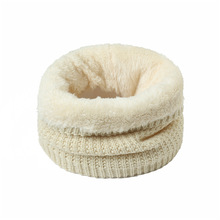 2019 New Korean Warm Solid Brushed Knit Neck Circle Go Out Wrap Cowl Loop Snood Shawl Outdoor Ski Climbing Scarf For Men Women 2019 new winter warm solid brushed knit neck circle outdoor ski climbing scarf for men women go out wrap cowl loop snood shawl