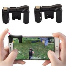 1 Pairs Mobile Gaming Trigger Fire Button Handle Shooter Game Joysticks Gamepad For PUBG Fire Shooting Aim Key L1R1 Controller