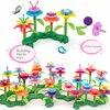 148pcs Building toys Bouquet Floral Arrangement block Playset - Construction Toys For girl Creative Fine Development Chirldren G discount