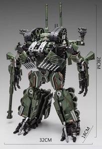 Image 5 - WJ dönüşüm oyuncaklar Brawl alaşım 28CM SS lider kamuflaj M04 tankı M1A1 modu KO aksiyon figürü Robot modeli koleksiyonu hediyeler