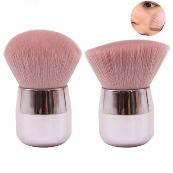 1PC różowy pędzel do makijażu do pudru duża głowa pędzel do makijażu grzyb makijaż głowy pędzel pędzle do twarzy podkład rozświetlający tanie i dobre opinie Jedna jednostka CN (pochodzenie)