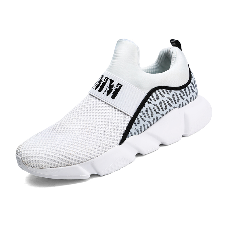 High Quality Casual Shoes Men Comfortable Non-slip Mesh Sneakers Men Lightweight Breathable Mens Casual Shoes Lace-up Flat
