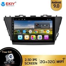 EKIY For Toyota V Plus Prius Alpha RHD 2012-2015 Autoradio 2din Android 9 DVD Car Multimedia Video Player Stereo Navigation GPS